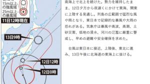 台風19号 気象庁異例の2度目会見「不要な外出避けて」